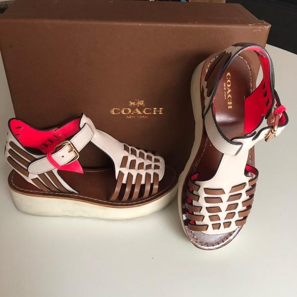 Coach Shoes - Coach Putnam Wedge Sandal